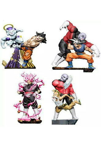 DRAGON BALL MEGAHOUSE SUPER  DRACAP Re: Birth Super Revival Ver.(Set of 4 Characters)