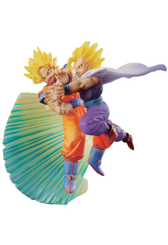 DRAGONBALL MEGAHOUSE DRACAP MEMORIAL SON GOKU AND SON GOHAN