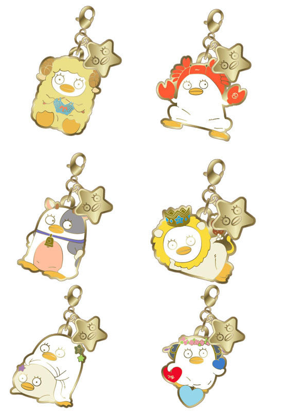 Metal Charm Collection Gintama Elizabeth's 12 Horoscopes Part 1 Saint Elly (Random Box of 6 Characters)