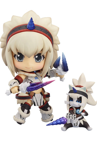 377 Monster Hunter 4 Nendoroid Hunter: Female - Kirin Edition(re-run)