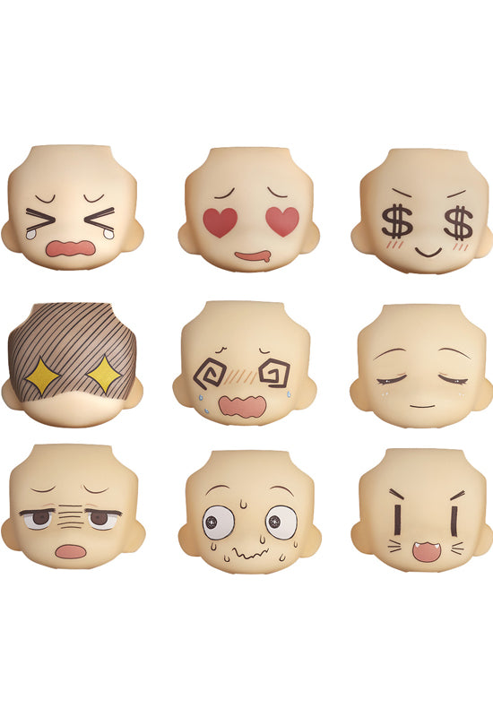 Nendoroid More GOOD SMILE COMPANY Face Swap 01 & 02 Selection (Set of 9 faces)