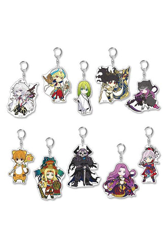 Fate/Grand Order HOBBY STOCK Pikuriru! Trading Acrylic Keychain vol.5 (re-run)(Set of 10 Characters)