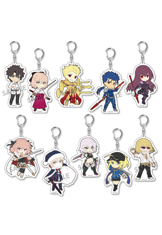Fate/Grand Order HOBBY STOCK Pikuriru! Fate/Grand Order Trading Acrylic Keychain vol.2 (Set of 10 Characters)(4th-run)