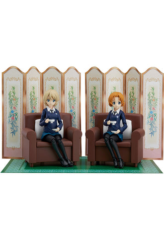 406 Girls und Panzer das Finale figma Darjeeling & Orange Pekoe Set