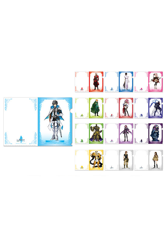 Fate/EXTELLA LINK HOBBY STOCK Clear Document Folder Set