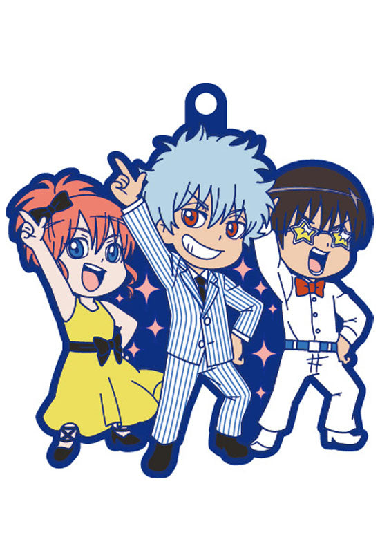 GINTAMA MEGAHOUSE RUBBER MASCOT NIGHT FEVER