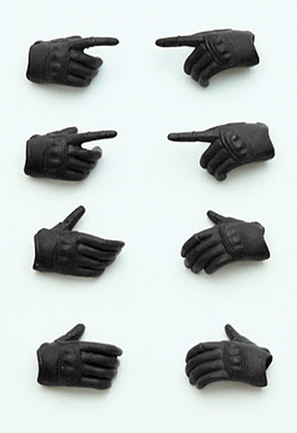 LittleArmory-OP3: figma Tactical Gloves (Stealth Black)