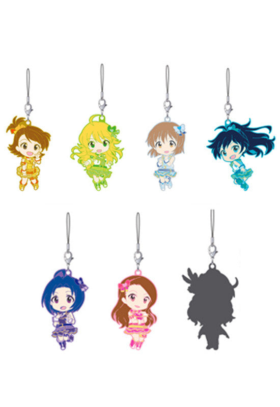 THE IDOLM@STER ONE FOR ALL Nendoroid Plus Rubber Straps: 765 PRO ALLSTARS Stage B (Set of 8 Boxes)