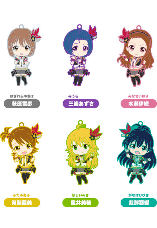 THE IDOLM@STER GOOD SMILE COMPANY Nendoroid Plus Collectible Rubber Straps: 765PRO ALLSTARS Revolution Night B (Set of 7 Characters)
