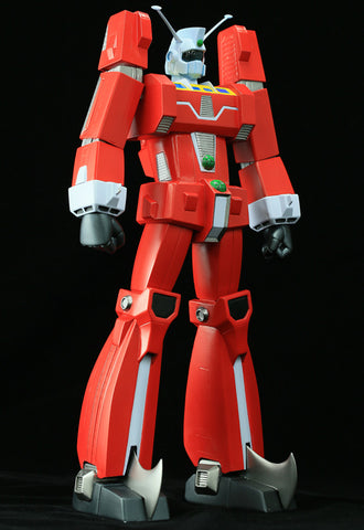 Space Runaway Ideon Kaiyodo Soft Vinyl Toy Box
