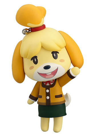 386 Animal Crossing: New Leaf Nendoroid Shizue (Isabelle): Winter Ver. (2nd Resale)