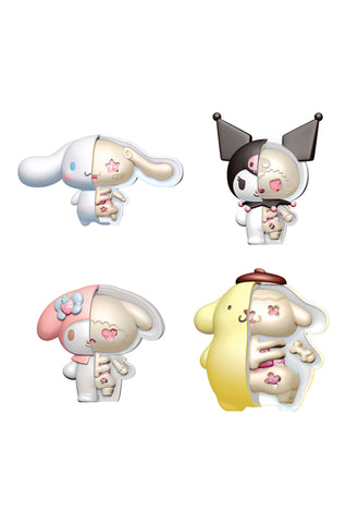 PUZZLE MASCOT KAITAI FANTASY  MEGAHOUSE Sanrio Characters Assortment Set of 4