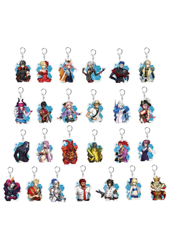 Fate/EXTELLA LINK HOBBY STOCK Acrylic Keychain vol.2 Set (Set of 25)