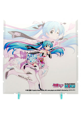 Dioramansion 150 PLM Dioramansion 150: Racing Miku Pit 2019 Optional Panel (Key Visual 2)