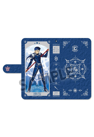 Fate/Grand Order HOBBY STOCK Cell Phone Wallet Case Lancer/Cu Chulainn