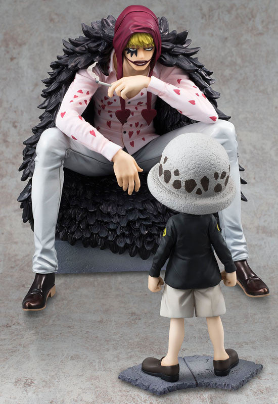 ONE PIECE P.O.P LIMITED EDITION CORAZON & LAW