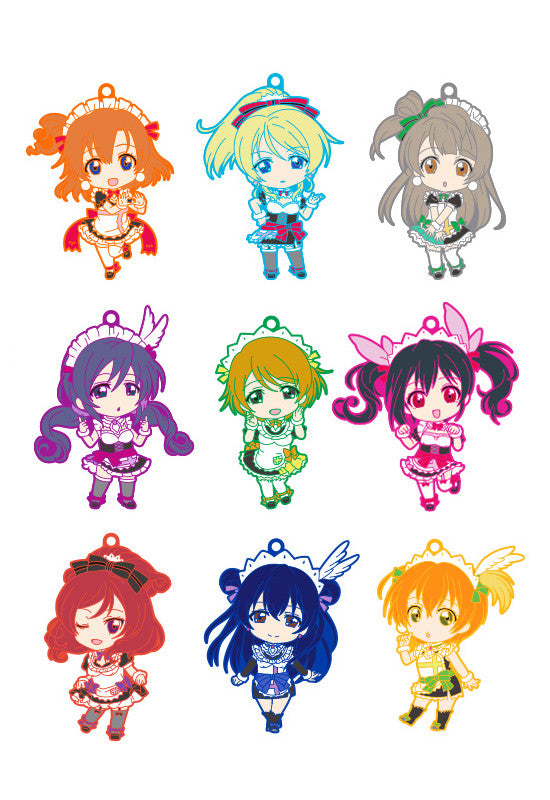 Love Live! Nendoroid Plus Trading Rubber Straps: Love Live! 04 (Set of 9 Characters)