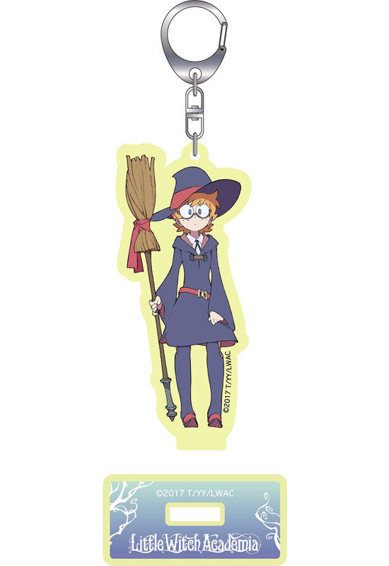 Little Witch Academia! GOOD SMILE COMPANY Little Witch Academia Acrylic Keychains with Stand (Lotte Jansson)