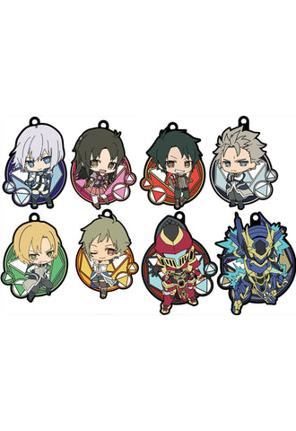 Knight's & Magic Genco Rubber Strap Collection (Set of 8 Characters)
