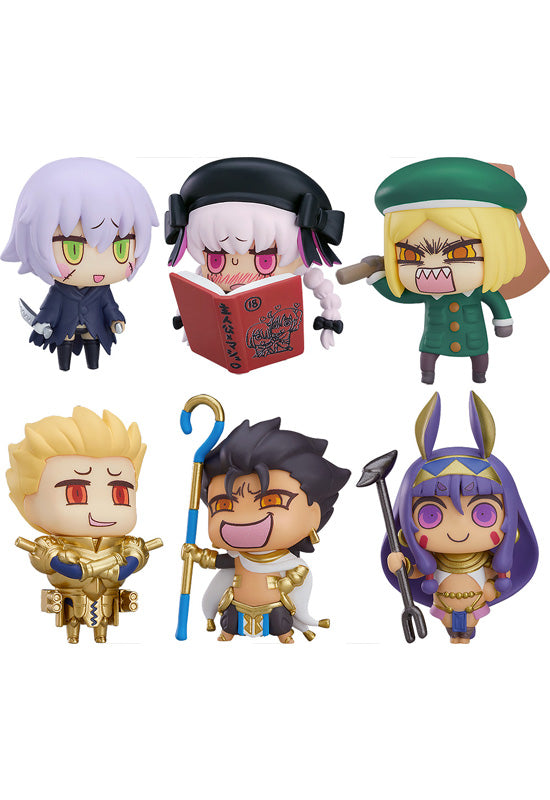 Fate/Grand Order GOOD SMILE COMPANY Learning with Manga! Fate/Grand Order Collectible Figures Episode 3 (Box Set of 6 Characters)