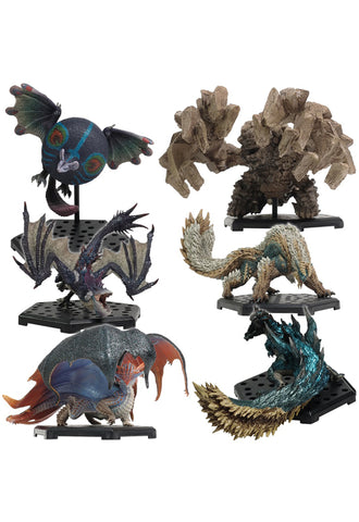 MONSTER HUNTER CAPCOM Capcom Figure Builder Monster Hunter Standard Model Plus Vol.17 (Set of 6 Characters)