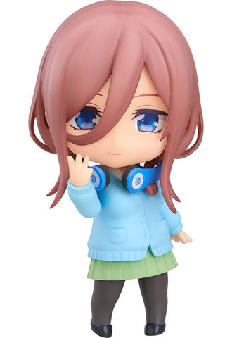 1306 The Quintessential Quintuplets Nendoroid Miku Nakano (re-run)