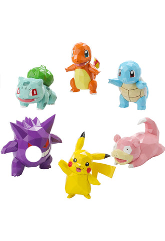 Pocket Monster Sen-Ti-Nel POLYGO MINI ACTION FIGURE COLLECTION (Box of 8 Characters)