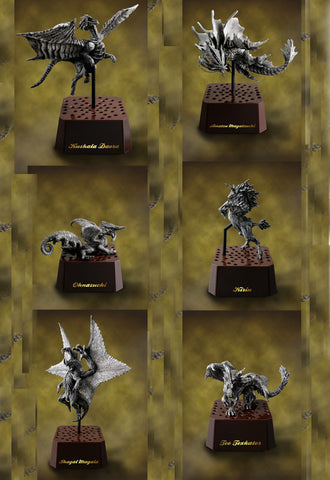 MONSTER HUNTER CAPCOM MH CFB MONSTER HUNTER Stone Model Vol.2 (Box of 6)