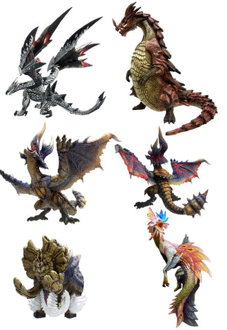 MONSTER HUNTER CAPCOM MH CFB Standard model Plus Vol.8 (Box of 6)