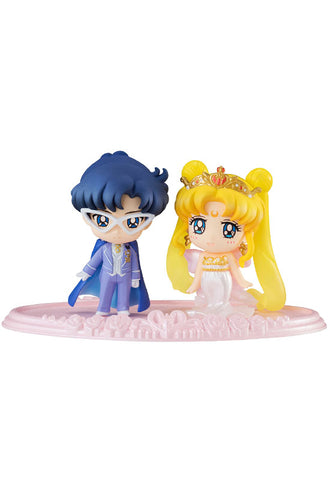SAILOR MOON MEGAHOUSE PETIT CHARA! NEO QUEEN SERENITY & KING ENDYMION