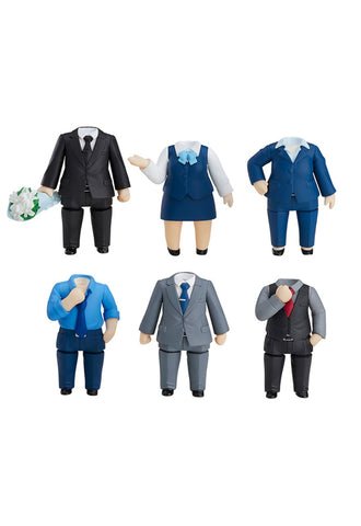 Nendoroid More Nendoroid More: Dress Up Suits 02 (Set of 6 Characters)