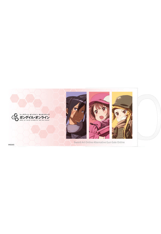 Sword Art Online Alternative Gun Gale Online HOBBY STOCK Mug Key Visual
