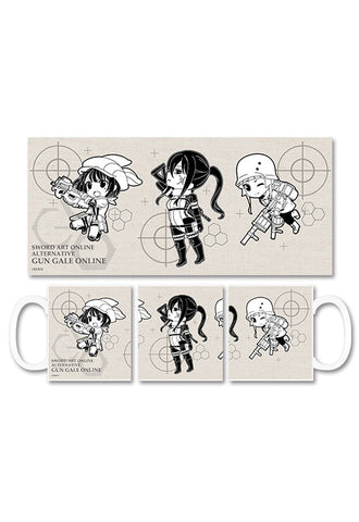 Sword Art Online Alternative Gun Gale Online HOBBY STOCK Mug