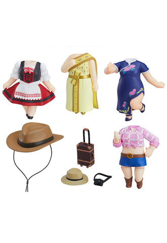 Love Live! Sunshine!! Nendoroid More LoveLive!Sunshine!! Dress Up World Image Girls Vol.2 (Set of 5 Characters)