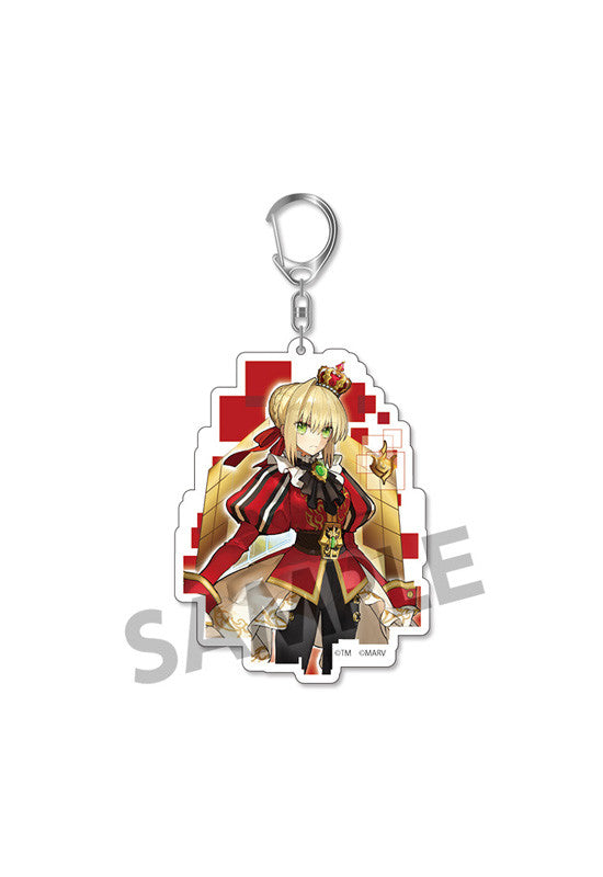 Fate/EXTELLA HOBBY STOCK Acrylic Keychain vol.2 Nero Claudius