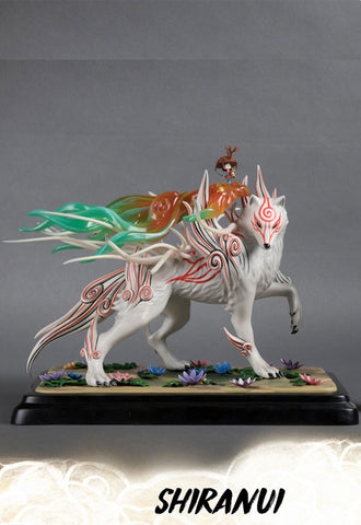 OKAMI First 4 Figures SHIRANUI REGULAR