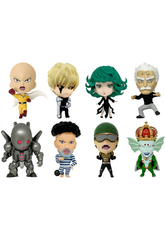 ONE-PUNCH MAN 16 directions Collectible Figure Collection: ONE-PUNCH MAN Vol. 2 (Set of 8 Characters)
