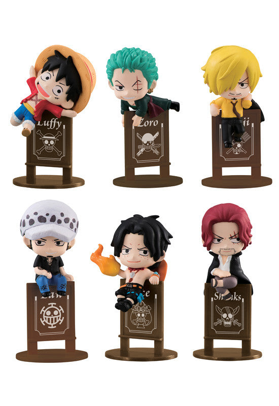 One Piece MEGAHOUSE OCHATOMO SERIES PIRATE'S PARTY (Set of 6 characters)