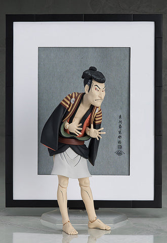 SP-100 The Table Museum FREEing figma Otani Oniji III as Yakko Edobei by Sharaku