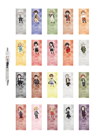 BUNGO STRAY DOGS WAN! HOBBY STOCK Ballpoint pen 20 kinds of sets