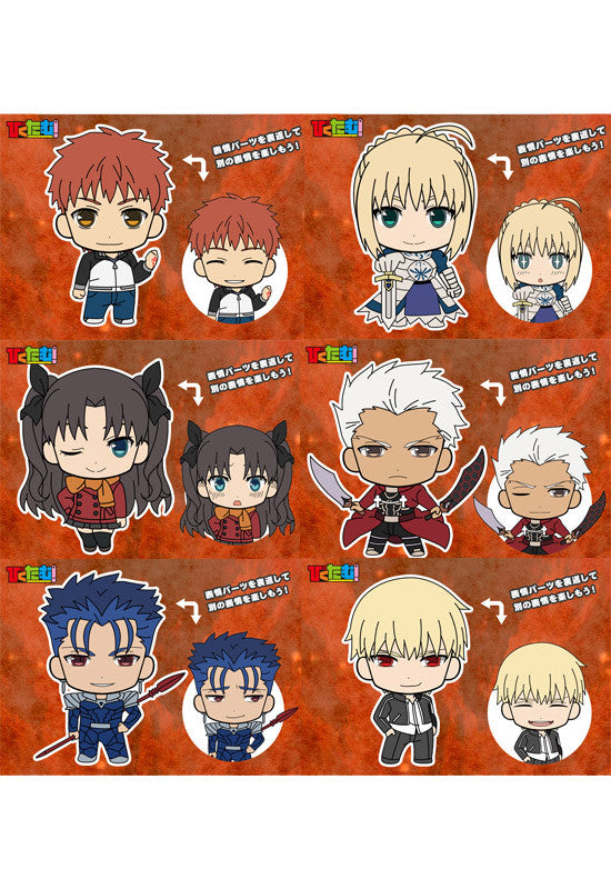 Fate/stay night [Unlimited Blade Works] Good Smile Company Picktam!: Fate/stay night [Unlimited Blade Works] (Set of 6 Characters)