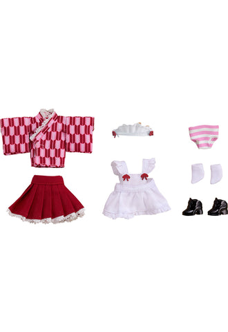 Nendoroid Doll Good Smile Company Nendoroid Doll: Outfit Set (Japanese-Style Maid - Pink)