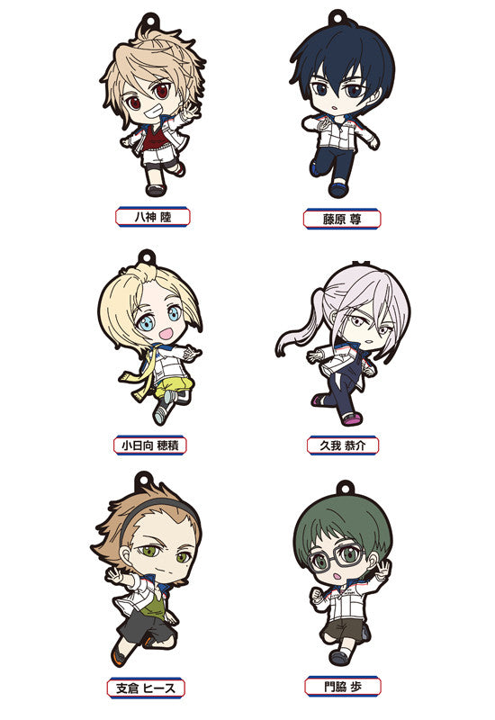 PRINCE OF STRIDE ALTERNATIV FREEing PRINCE OF STRIDE ALTERNATIV Trading Rubber Straps (Set of 6 Characters)