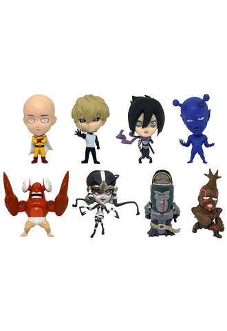 ONE-PUNCH MAN 16 directions Collectible Figure Collection: ONE-PUNCH MAN Vol. 1(re-run) (Set of 8 Characters)