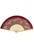 MONSTER HUNTER DOUBLE CROSS CAPCOM Japanese pattern Folding fan Red