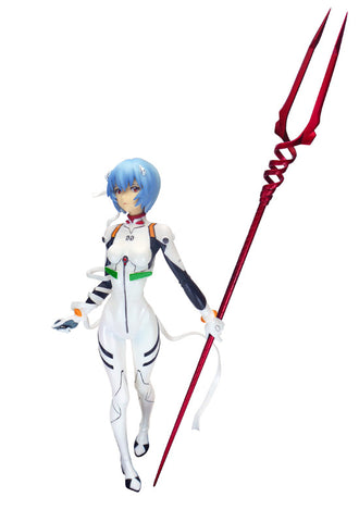Evangelion: 2.0 You Can (Not) Advance (Evangelion: The New Movie: Break) Clayz Rei Ayanami 1/8 Cold cast Figure(Re-production)