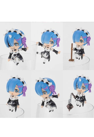 Re:Zero -Starting Life in Another World- KADOKAWA PUTITTO All REM ver (Re-run) (Set of 8 Characters)