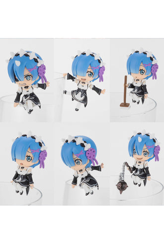 Re:Zero -Starting Life in Another World- KADOKAWA PUTITTO All REM ver (Set of 8 Characters)