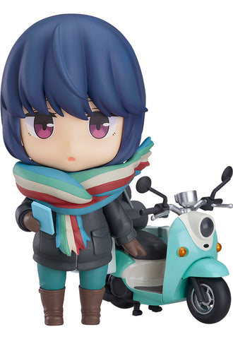 1451 Laid-Back Camp Nendoroid Rin Shima: Touring Ver.