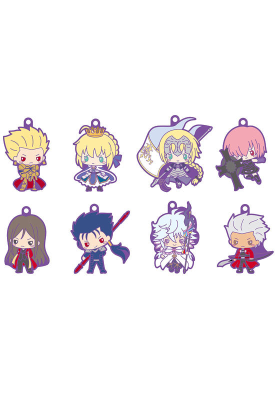 FATE/GRAND ORDER MEGAHOUSE RUBBER MASCOT FGO (DESIGN PRODUCED by SANRIO) (Set of 8 Characters)